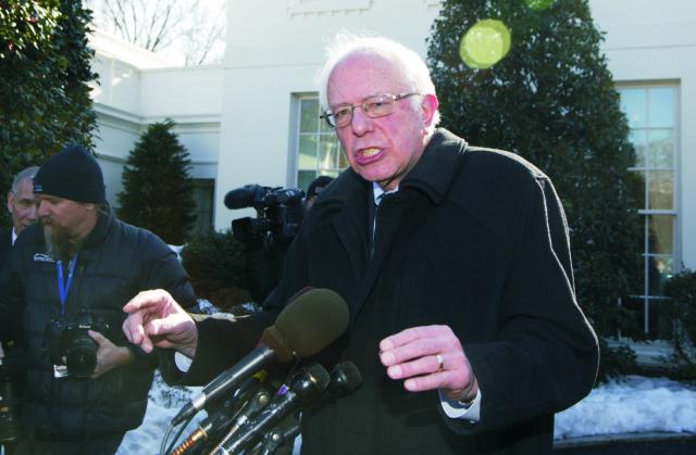 Prezidentský kandidát Demokratickej strany, vermontský senátor Bernie Sanders