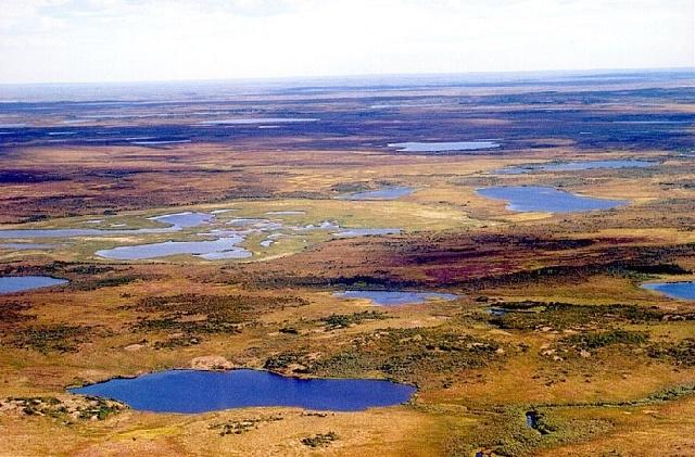 Na Sibíri bývajú veľké zamrznuté plochy