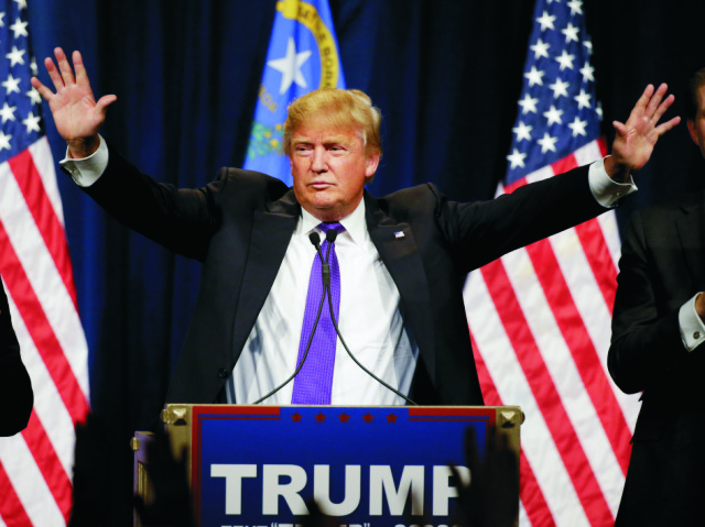 Republikánsky kandidát na post amerického prezidenta Donald Trump