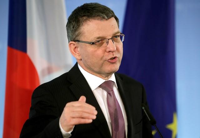 Na snímke český minister zahraničných vecí Lubomír Zaorálek