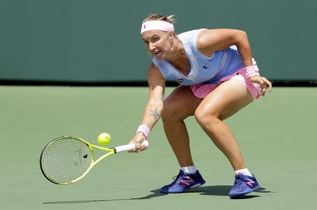 Na snímke ruská tenistka Svetlana Kuznecovová