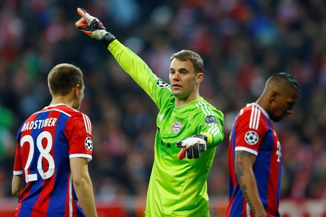 Na snímke brankár Bayernu Mníchov Manuel Neuer