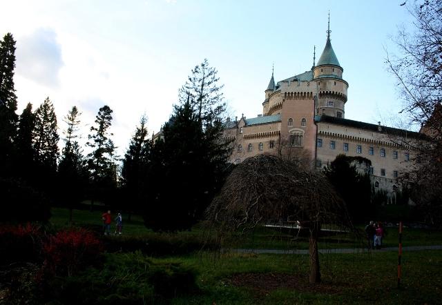 Na snímke Bojnický zámok