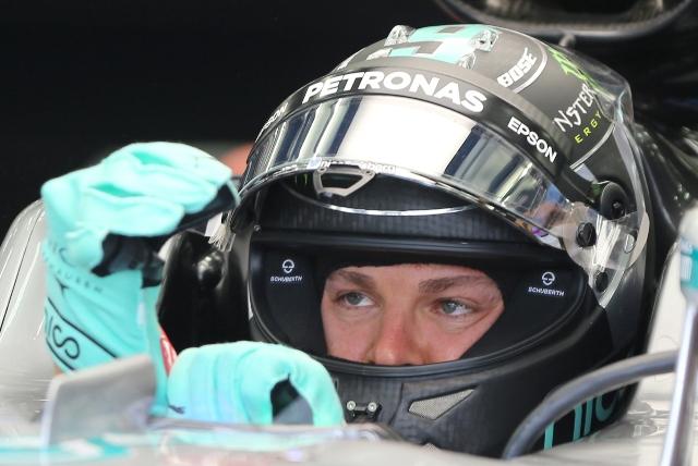 Na snímke nemecký jazdec tímu Mercedes Petronas Nico Rosberg