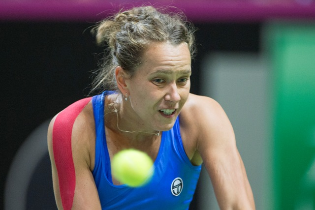 Na snímke česká tenistka Barbora Strýcová