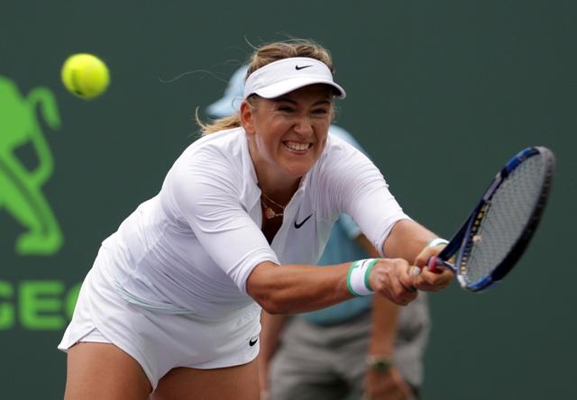 Na snímke bieloruská tenistka Victoria Azarenková