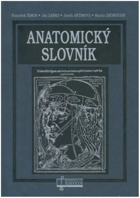 Na snímke anatomický slovník