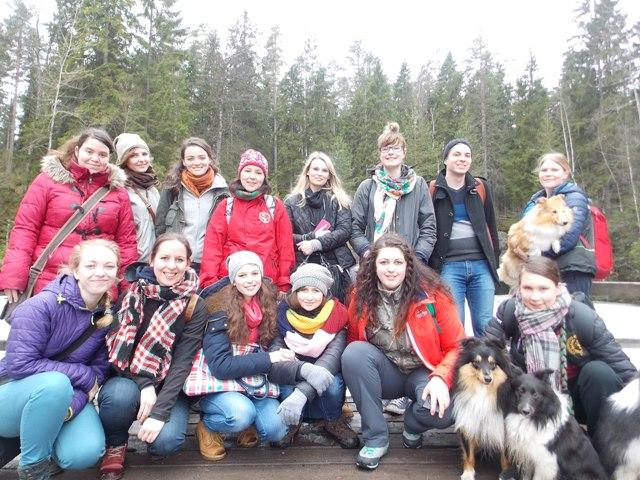 Budúci veterinári sa vrátili z Fínska