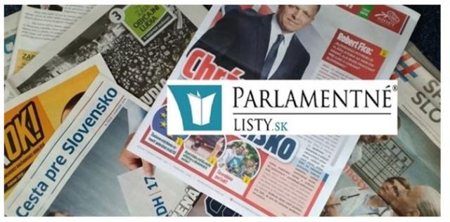 Na snímke Parlamentné Listy