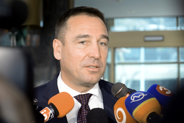 Na snímke minister dopravy, výstavby a regionálneho rozvoja SR  Roman Brecely