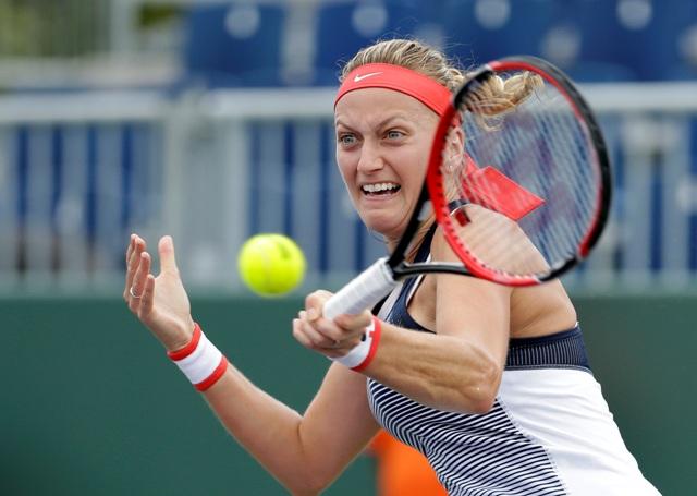 Na snímke česká tenistka Petra Kvitová