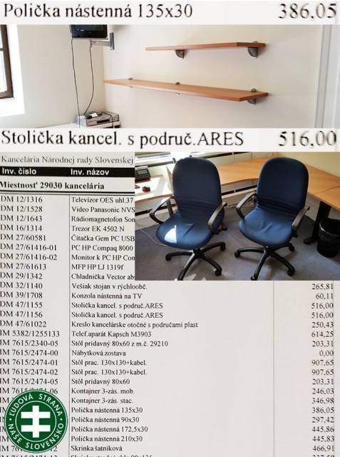 Ako vyzerá poslanecká kancelária za 11 000 €