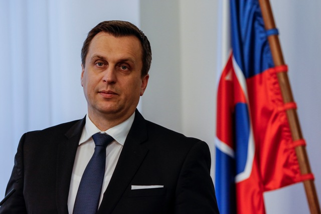 Na snímke predseda NRSR Andrej Danko (SNS)