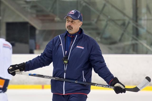 Na snímke tréner slovenskej reprezentácie Zdeno Cíger