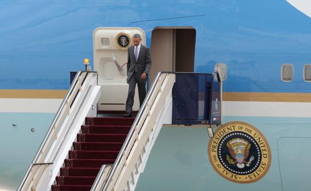 Na snímke americký prezident Barack Obama