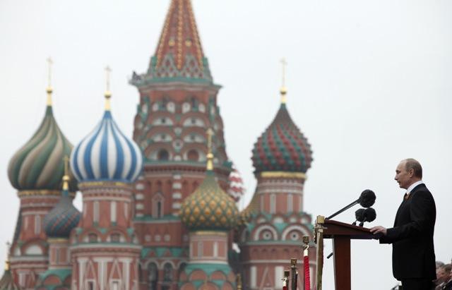Na ilustračnej snímke ruský prezident Vladimir Putin