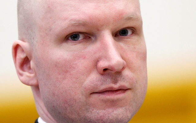 Na snímke Anders Breivik