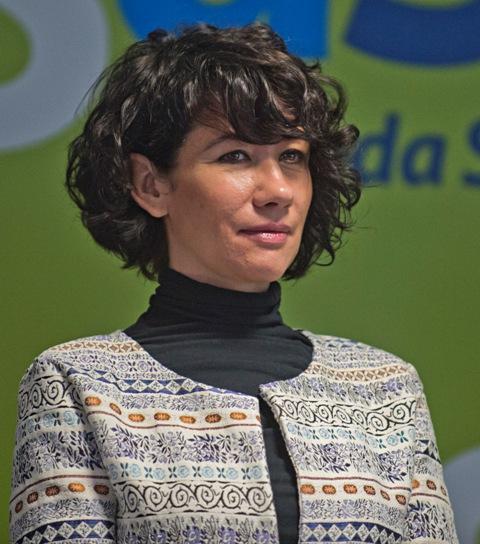 Na snímke podpredsedníčka parlamentu za opozičnú SaS Lucia Nicholsonová