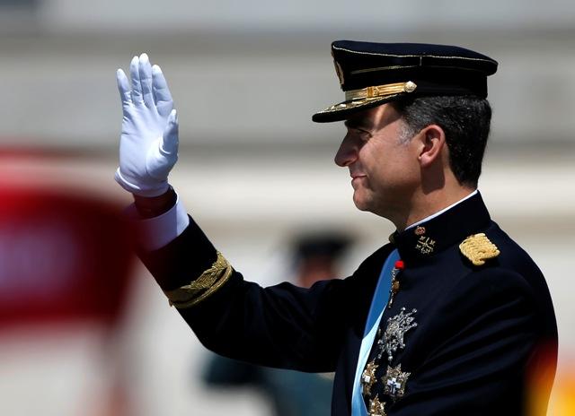 Na snímke španielsky kráľ Filip VI.