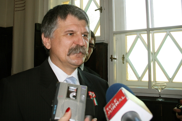 Na snímke predseda maďarského parlamentu László Kövér