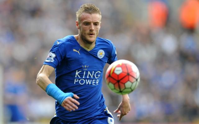 Na snímke hráč Leicesteru Jamie Vardy