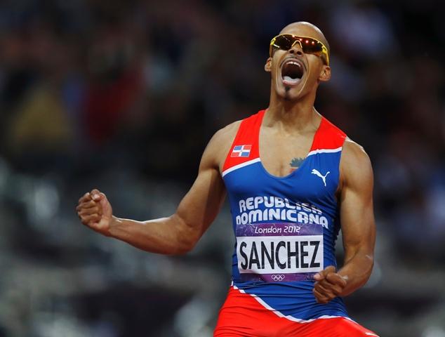 Na snímke Felix Sanchez z Dominikánskej republiky