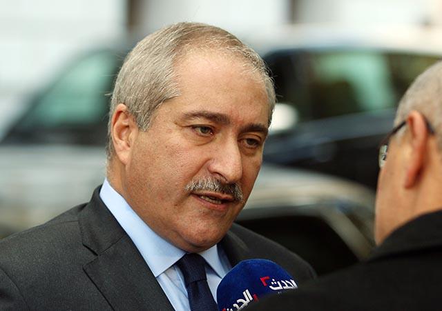 Jordánsky minister zahraničných vecí Násir Džúdí