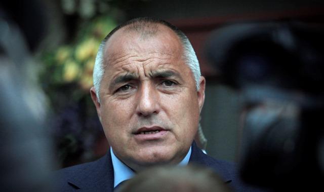 Na snímke bulharský premiér Bojko Borisov