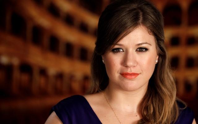 Na snímke americká speváčka Kelly Clarkson