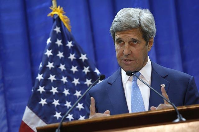 Americký minister zahraničných vecí John Kerry