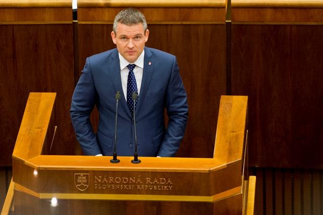 Na snímke podpredseda vlády SR pre investície Peter Pellegrini