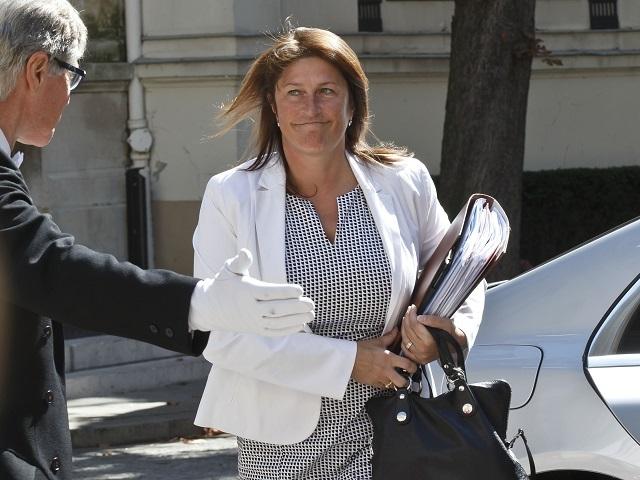 Belgická ministerka dopravy Jacqueline Galantová