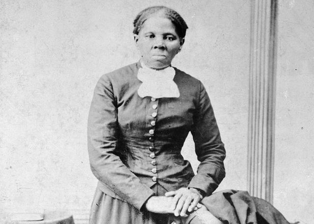 Na snímke afroamerická abolicionistka a filantropka Harriet Tubmanová