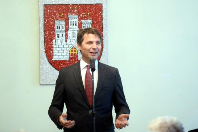 Na snímke primátor hlavného mesta SR Bratislavy Ivo Nesrovnal