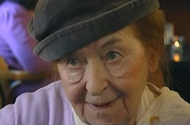 Vo veku 91 rokov zomrela v stredu česká herečka Věra Kubánková