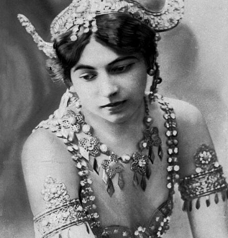 Legendárna holandská tanečnica a špiónka Mata Hari