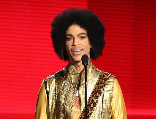 Americký spevák Prince