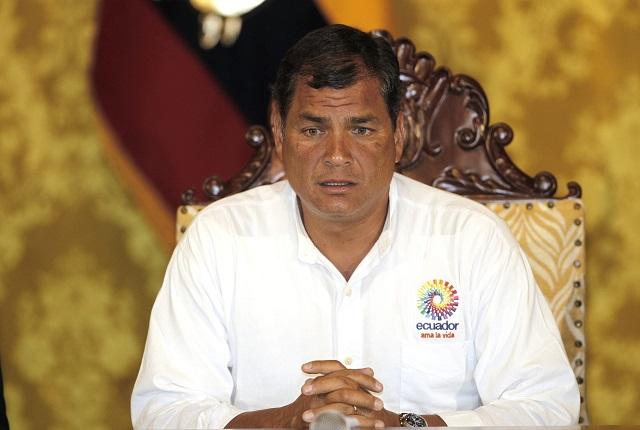 Ekvádorský prezident Rafael Correa