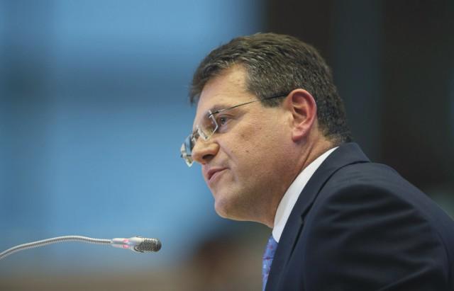 Na snímke Maroš Šefčovič