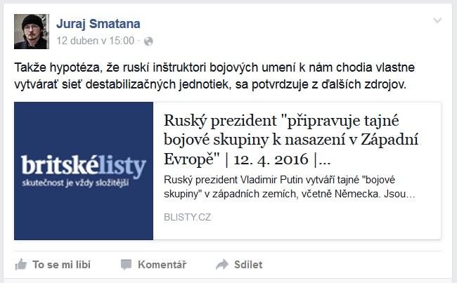 Takéto obavy má zostavovateľ zoznamov konšpiračných webov Juraj Smatana