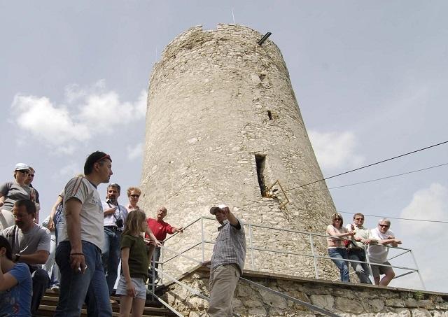 Miesto pôvodnej veže spišského hradu. Foto: Milan Kapusta