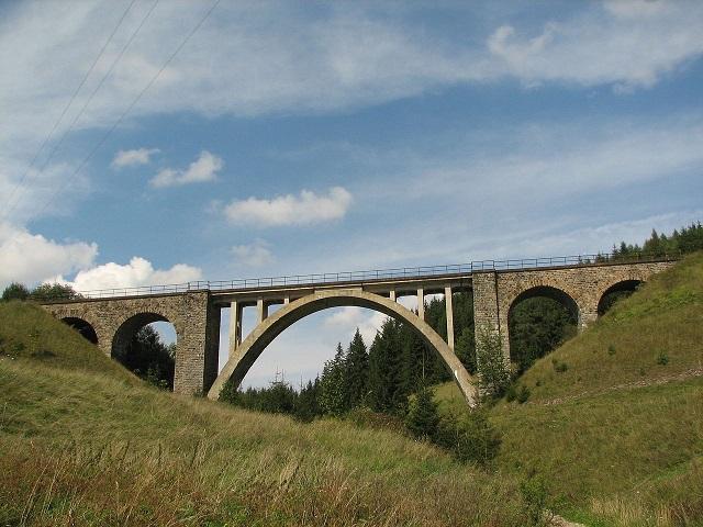 Telgártsky viadukt Foto:wikipedia, Ján Sokoly