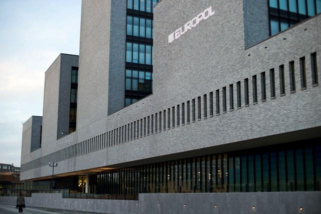 Na snímke budova európskeho policajného úradu Europol v Haagu