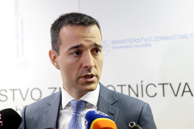 Na snímke minister zdravotníctva Tomáš Drucker (nominant Smeru-SD)