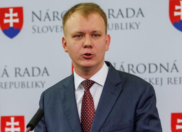 Na snímke poslanec Miroslav Beblavý (nezaradený)