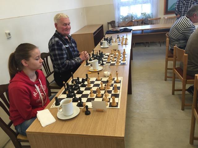Jedinú remízu uhrala krajská majsterka v šachu Veronika Majerová