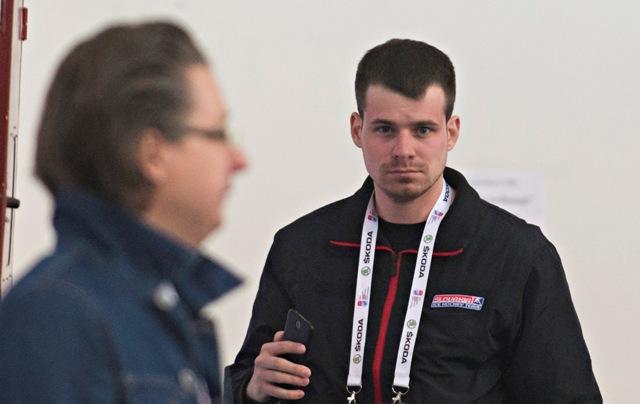 Na snímke teamhost slovenskej hokejovej reprezentácie Oleg Jablonský