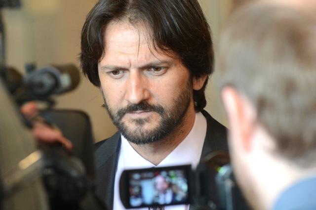 Na snímke minister vnútra Robert Kaliňák (Smer-SD)