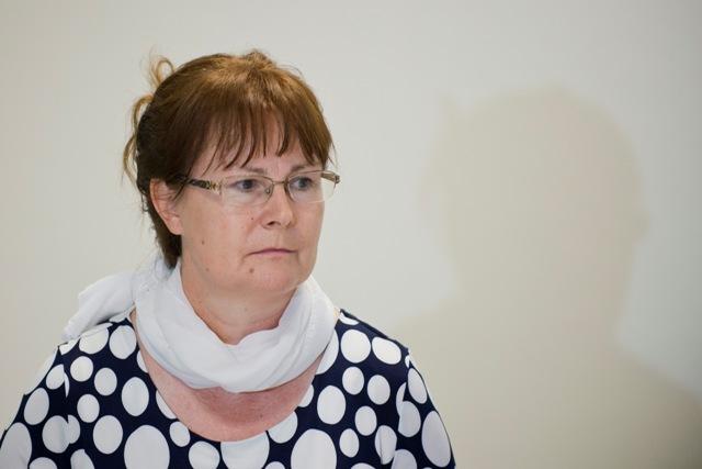 Na snímke predsedníčka ASAP Ľubica Kočanová