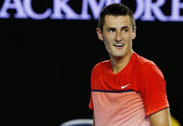 Na snímke austrálsky tenista Bernard Tomic